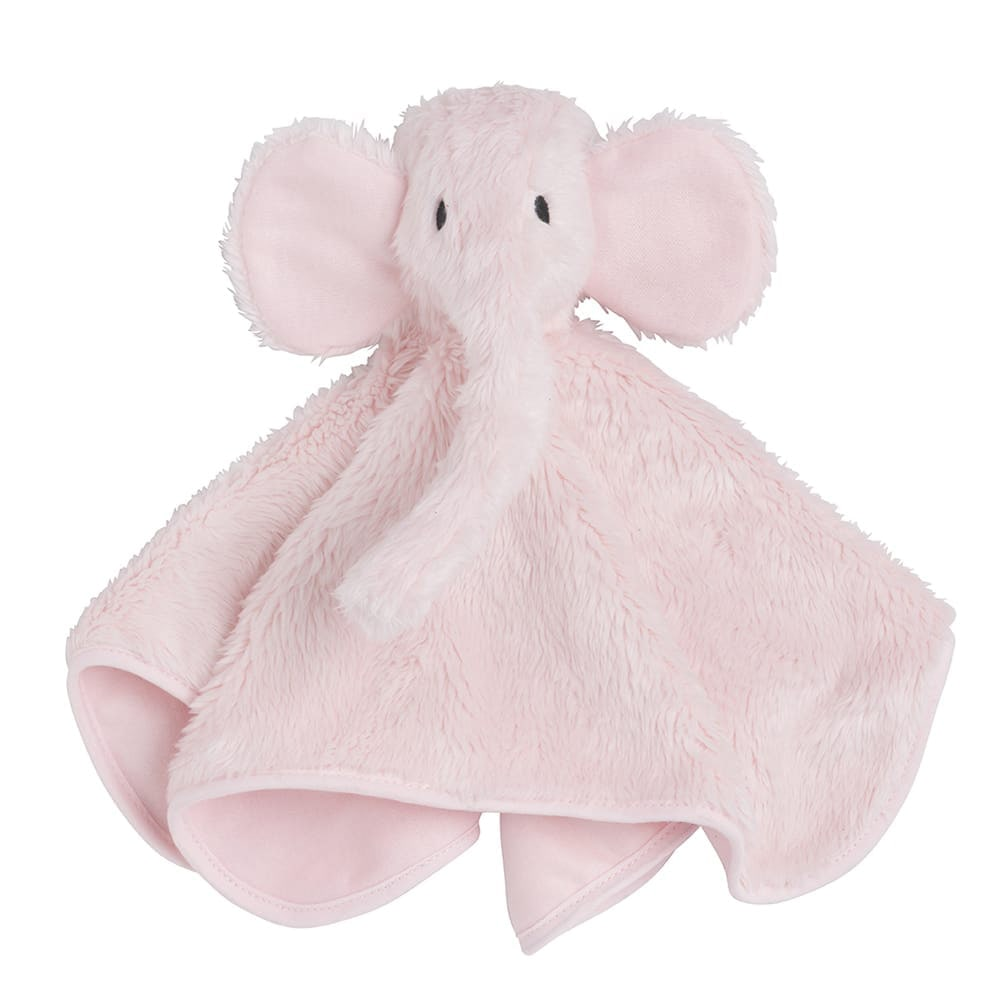 babys only 0853601 knuffeldoek olifant classic roze 1