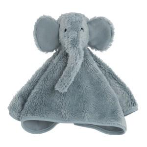 Knuffeldoek olifant stonegreen
