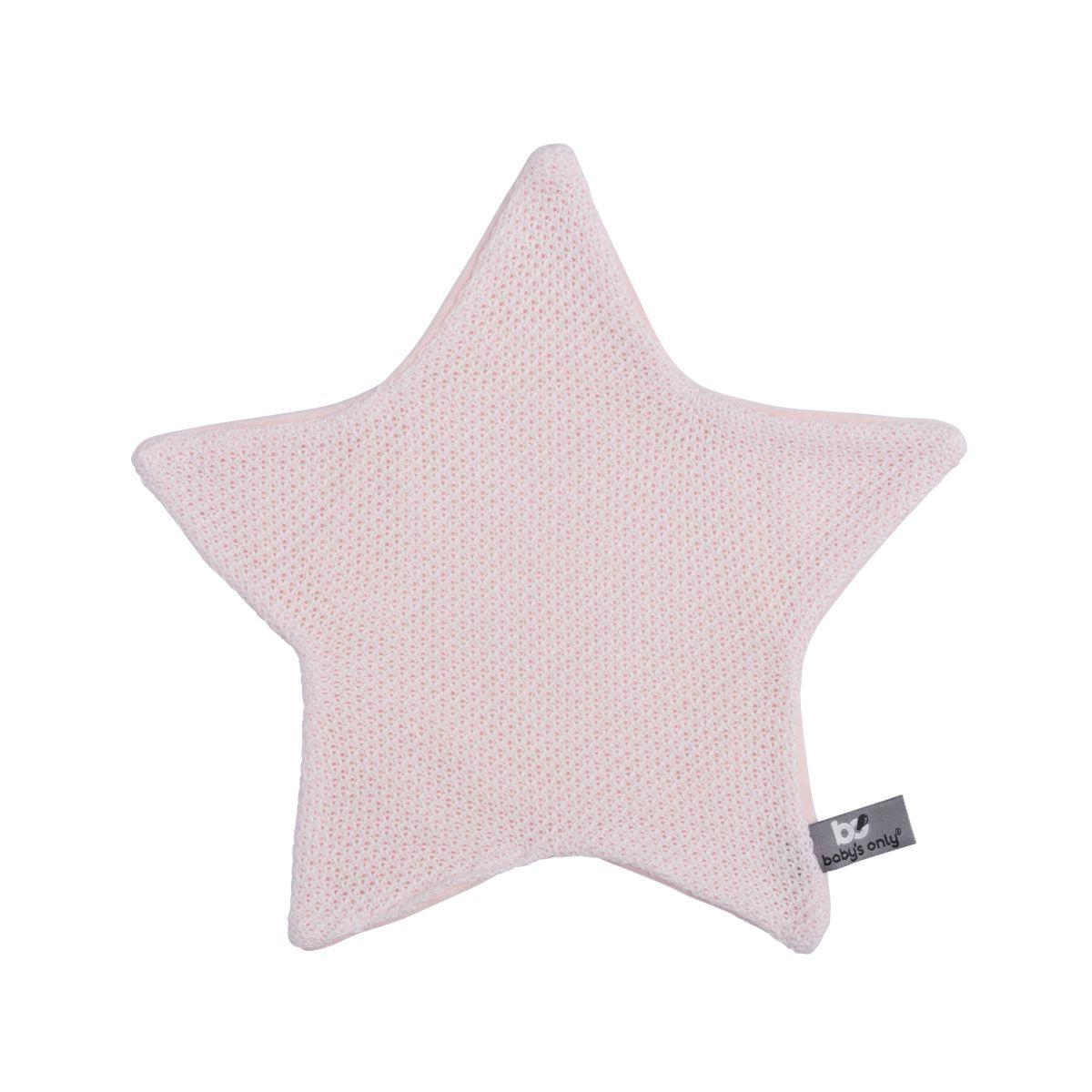 babys only 0203601 knuffeldoekje ster classic roze