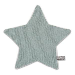 Knuffeldoekje ster Classic stonegreen