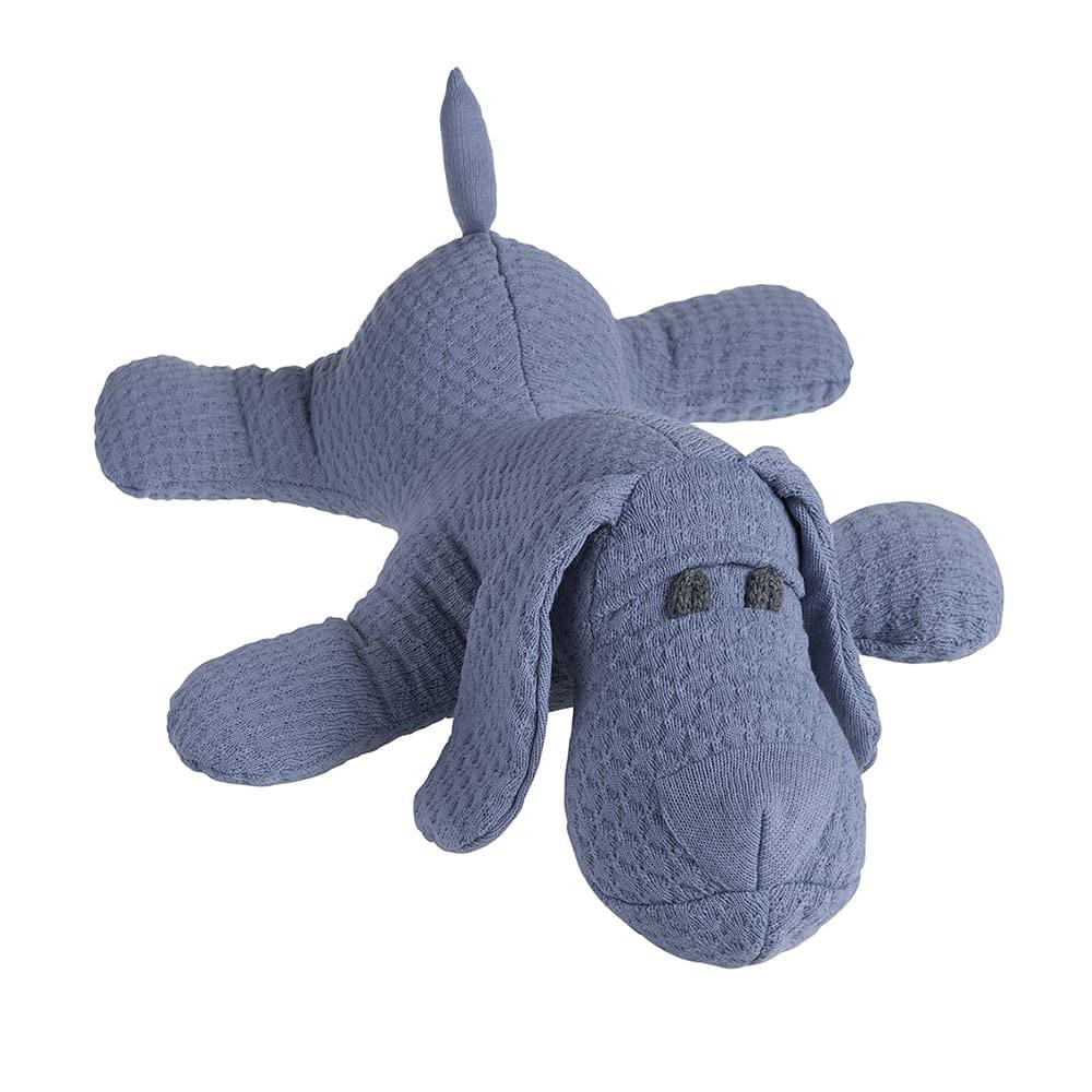 babys only 0356432 knuffelhondje cloud indigo 1