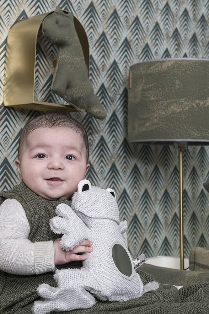 babys only 0853402 knuffelkikker zilvergrijs 3