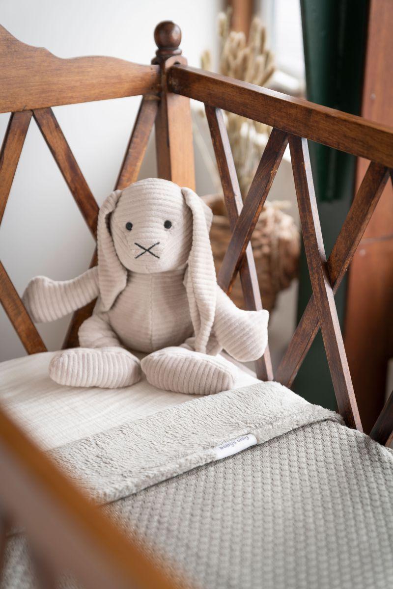 babys only bo024623023 sense knuffelkonijn kiezelgrijs 2