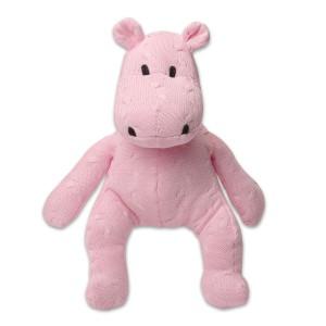 Knuffelnijlpaard Cable baby roze
