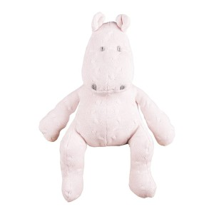 Knuffelnijlpaard Cable classic roze