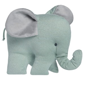 Knuffelolifant Sparkle goud-mint mêlee