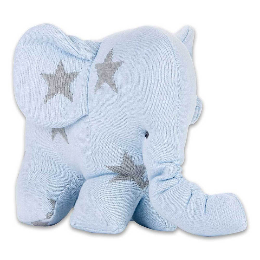 babys only 0915493 knuffelolifant star baby blauw grijs 1
