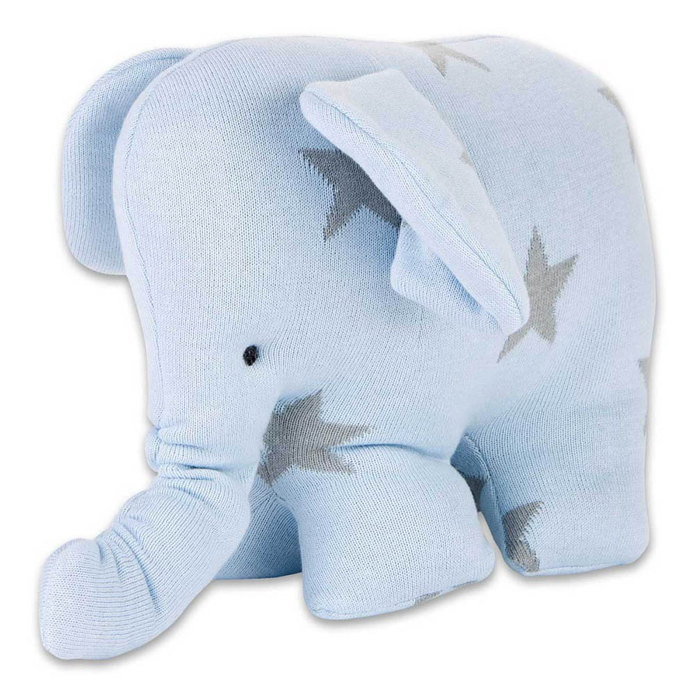 babys only 0915493 knuffelolifant star baby blauw grijs 2