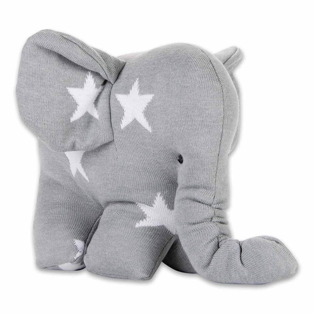 babys only 0915495 knuffelolifant star grijs wit 1