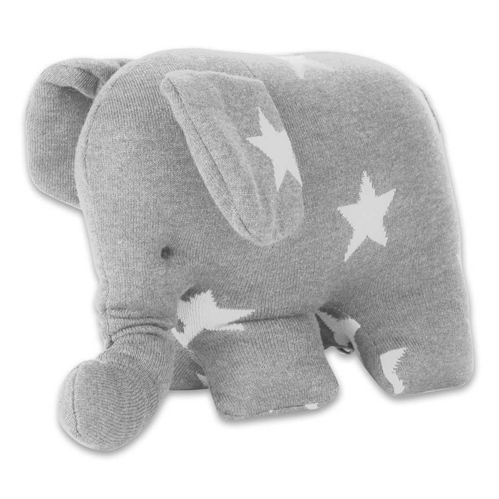 babys only 0915495 knuffelolifant star grijs wit 2