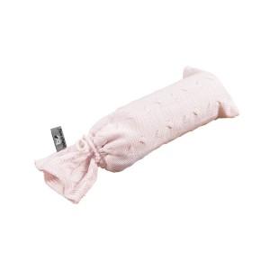 Kruikenzak Cable classic roze