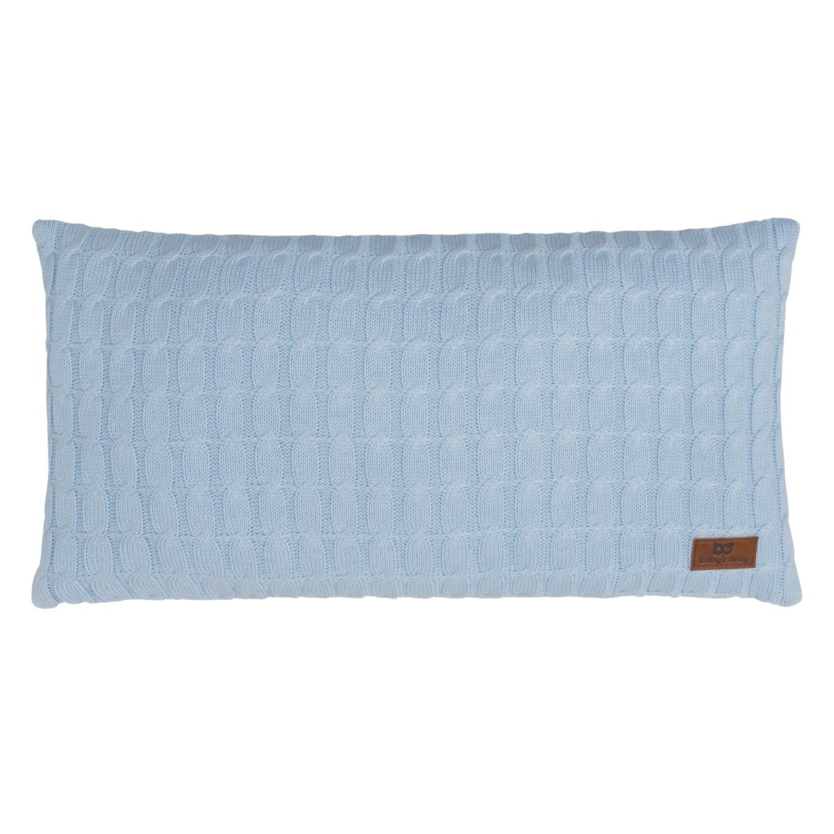 babys only 0131620 kussen 60x30 cable baby blauw 1