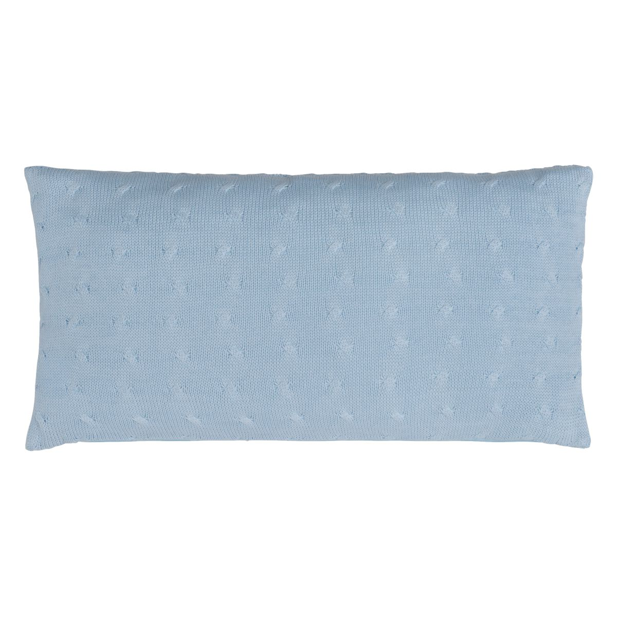 babys only 0131620 kussen 60x30 cable baby blauw 2