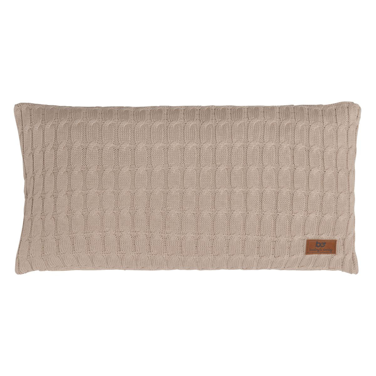 babys only 0131612 kussen 60x30 cable beige 1