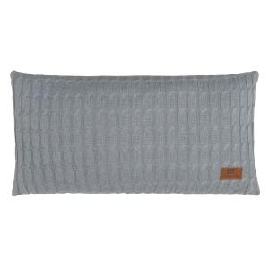Kussen Cable grijs - 60x30