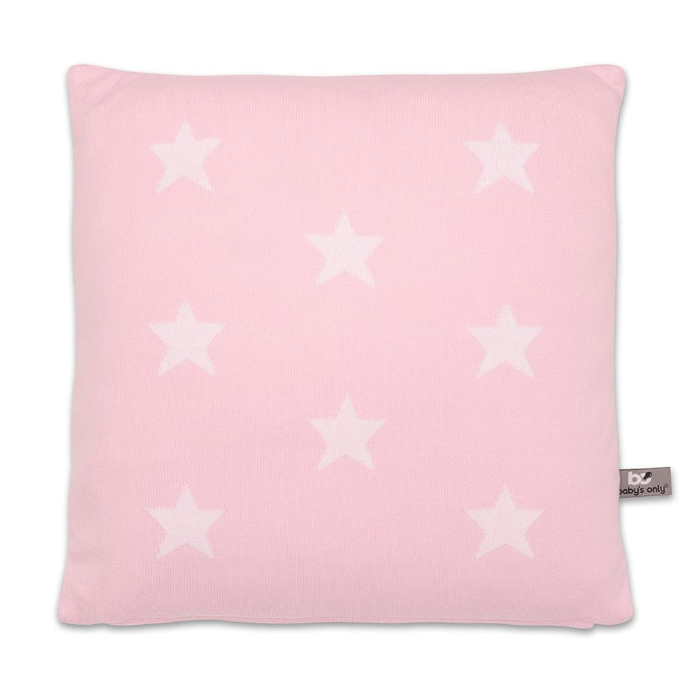 babys only 0911594 kussen 40x40 star baby roze wit 1