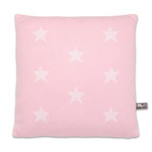 Kussen Star baby roze/wit - 40x40