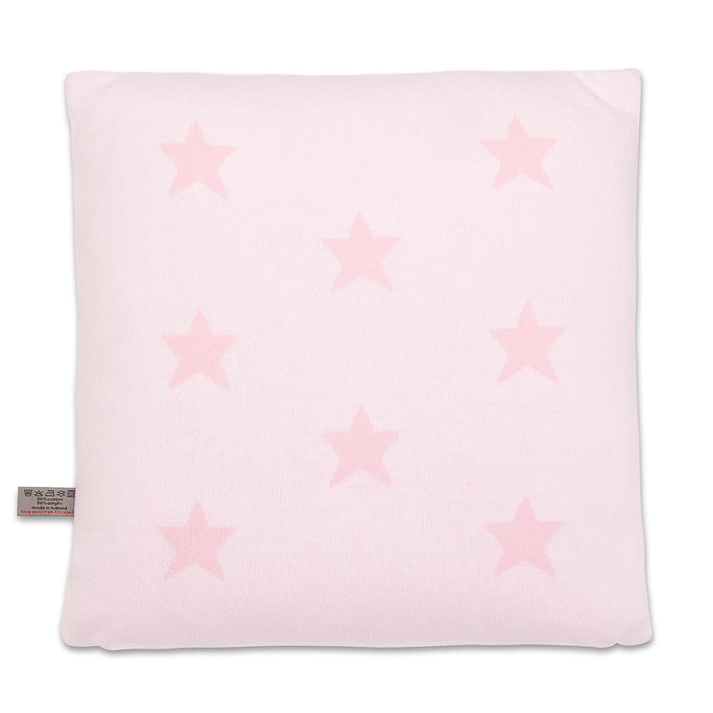babys only 0911594 kussen 40x40 star baby roze wit 2