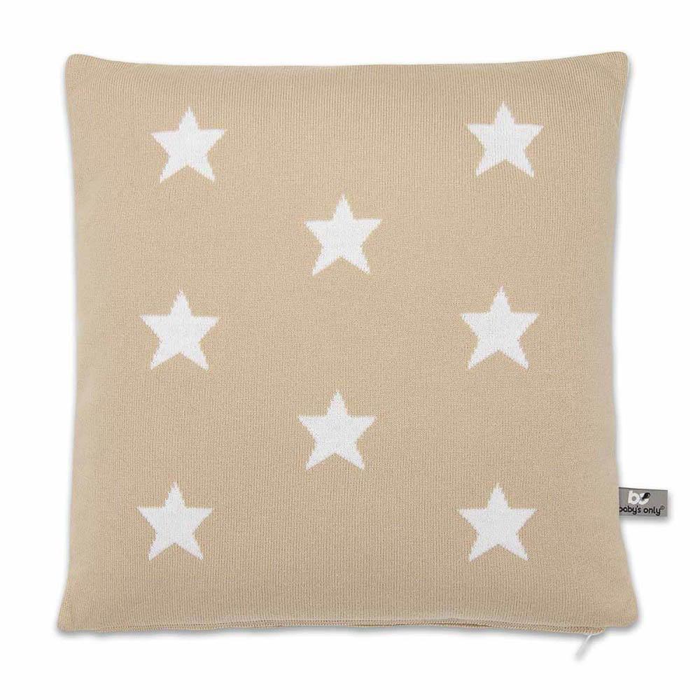 babys only 0911599 kussen 40x40 star beige wit 1