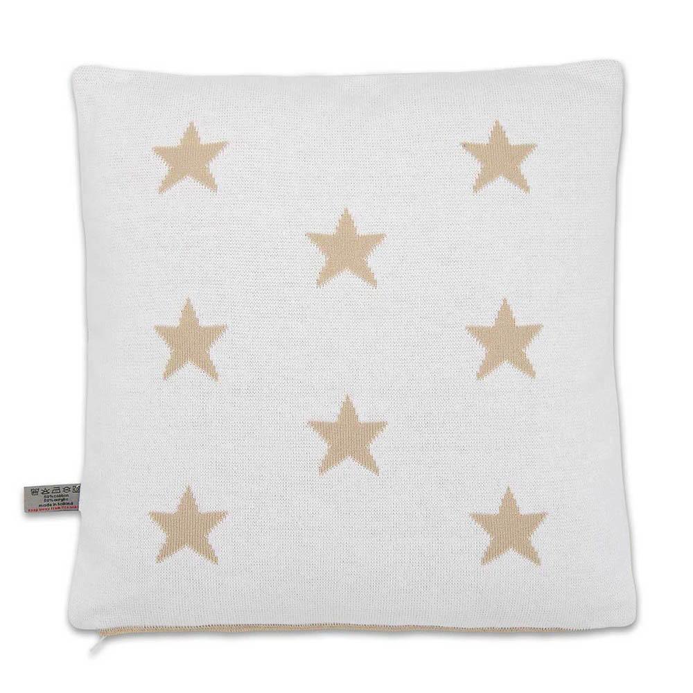 babys only 0911599 kussen 40x40 star beige wit 2