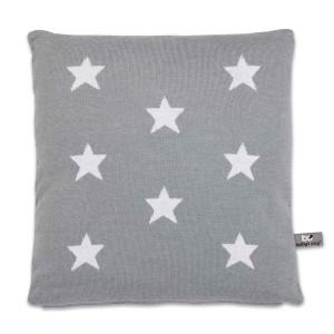 Kussen Star grijs/wit - 40x40