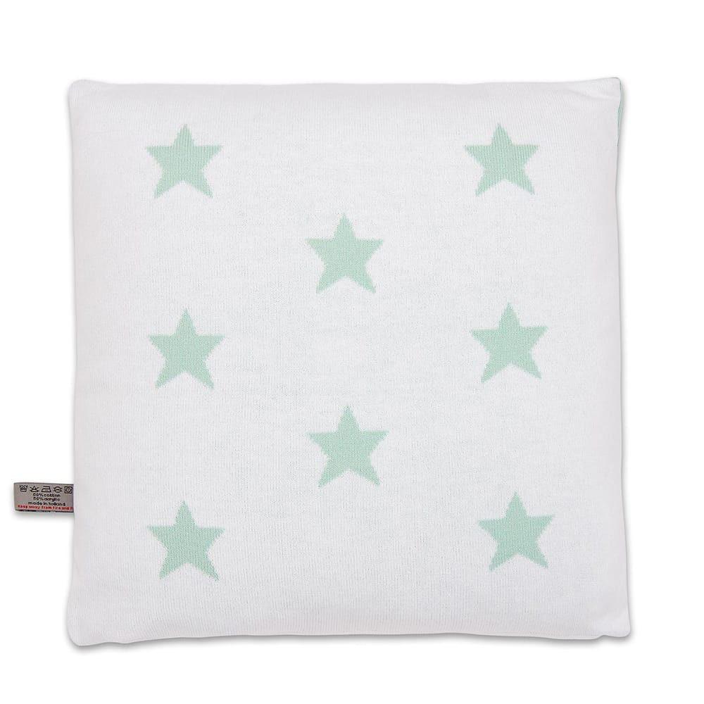 babys only 0911592 kussen 40x40 star mint wit 2