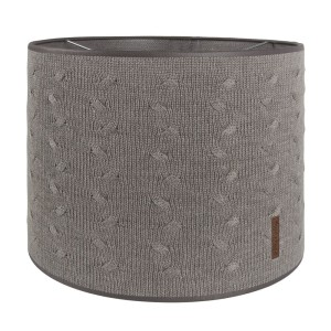 Lampenkap Cable taupe - Ø30 cm