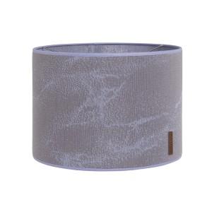 Lampenkap Marble cool grey/lila - Ø30 cm