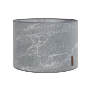 Lampenkap Marble grijs/zilvergrijs - Ø30 cm