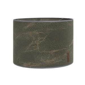 Lampenkap Marble khaki/olive - Ø30 cm