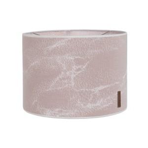 Lampenkap Marble oud roze/classic roze - Ø30 cm