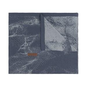 Ledikantdeken Marble granit/grijs