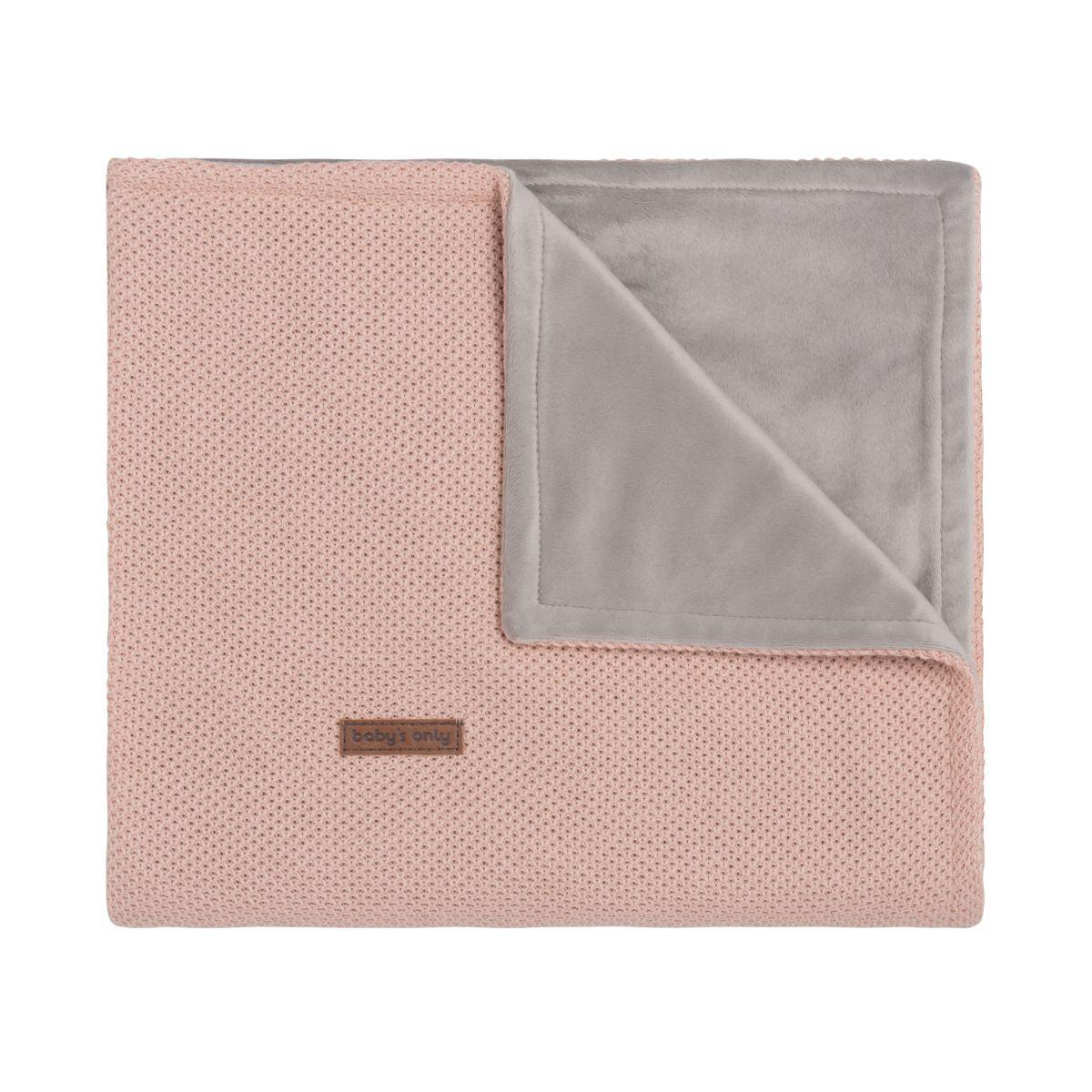 babys only 0201113 ledikantdeken soft classic blush 1