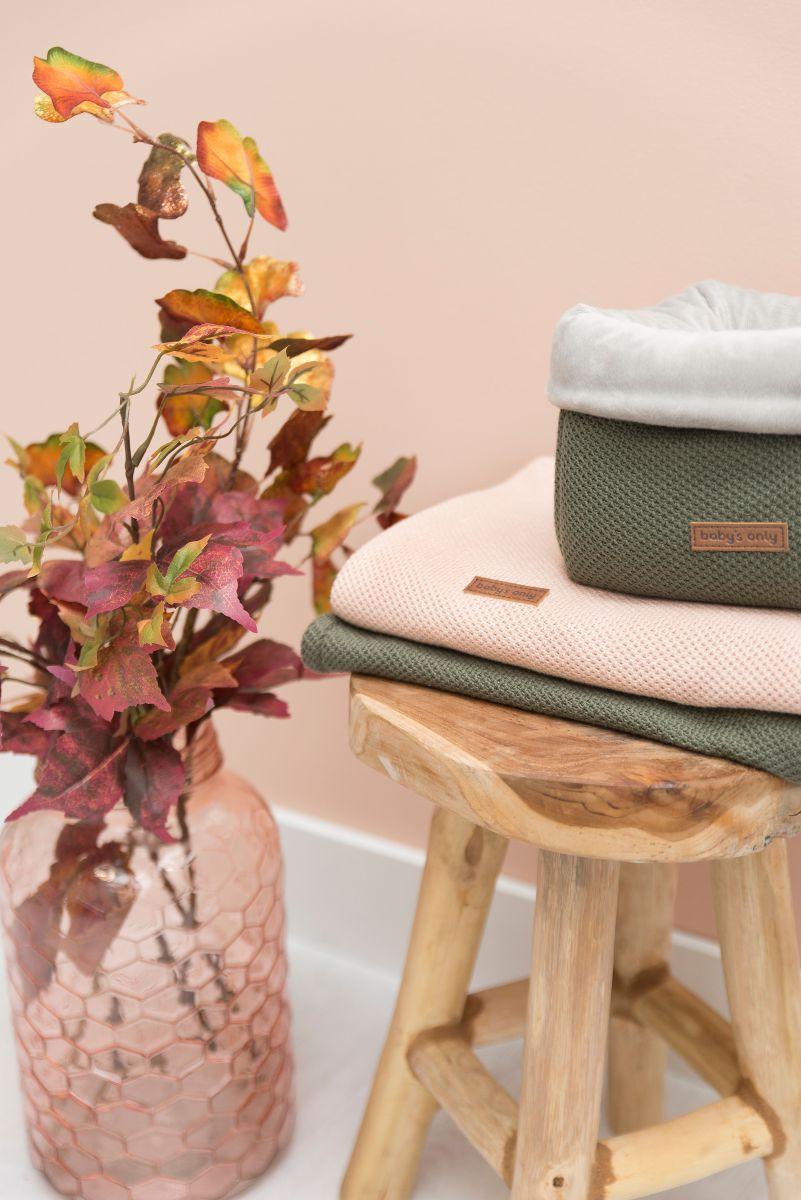 babys only 0201125 ledikantdeken soft classic khaki 2