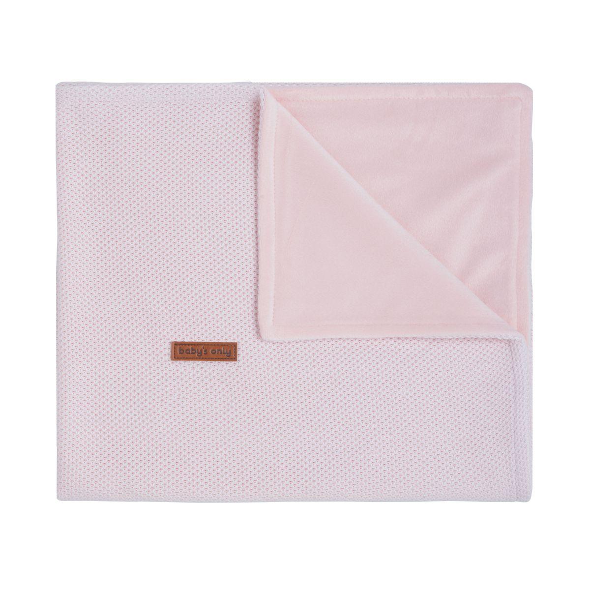babys only 0201101 ledikantdeken soft classic roze