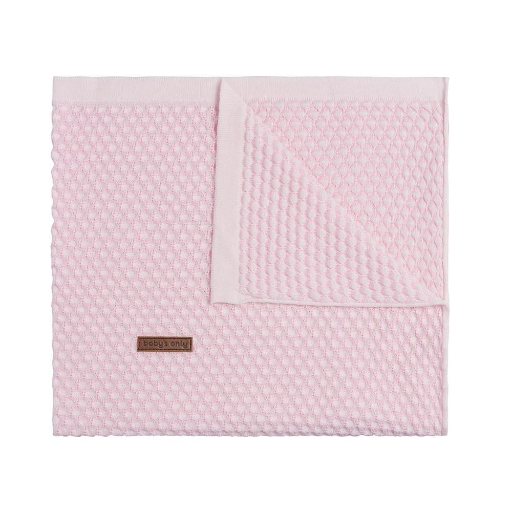 afbeelding babys only 0256581 ledikantdeken uni sun classic roze baby rozejpg