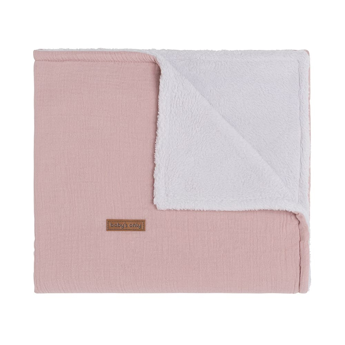 babys only 0231121 ledikantdeken teddy breeze baby roze 1