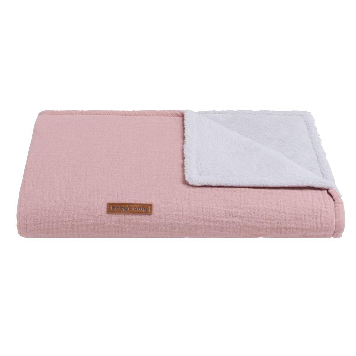 babys only 0231121 ledikantdeken teddy breeze baby roze 2