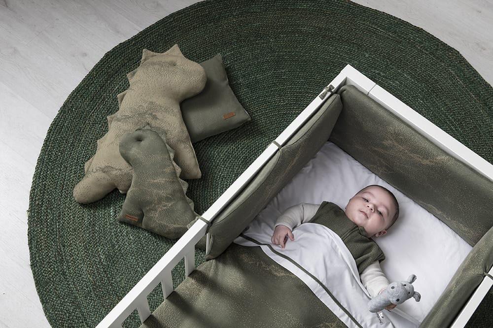 babys only 2111 ledikantdeken teddy marble 2