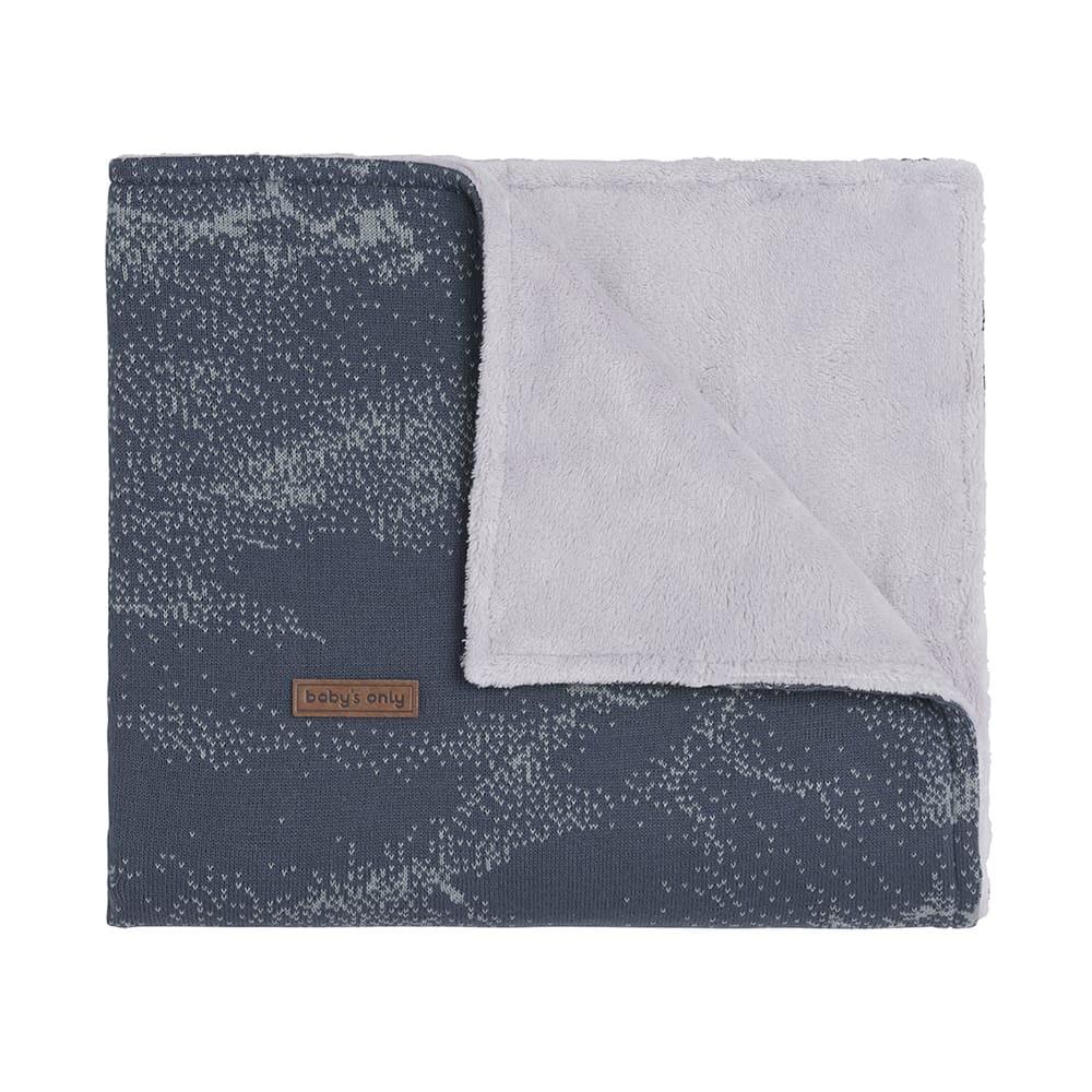 babys only 0211187 ledikantdeken teddy marble granit grijs 1