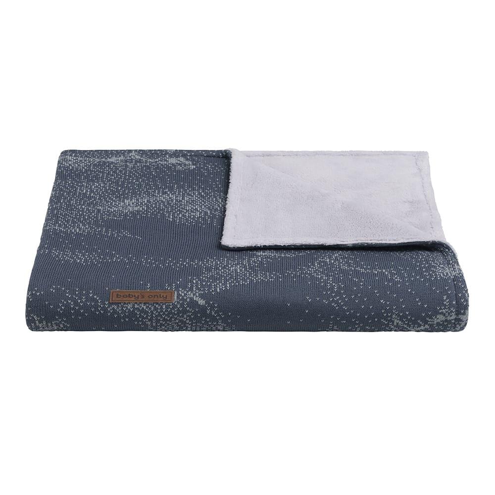 babys only 0211187 ledikantdeken teddy marble granit grijs 2