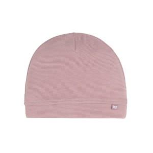 Mutsje Pure oud roze - 3-6 mnd