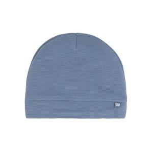 Mutsje Pure vintage blue - 3-6 mnd