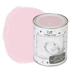 Muurverf baby roze - 1 liter