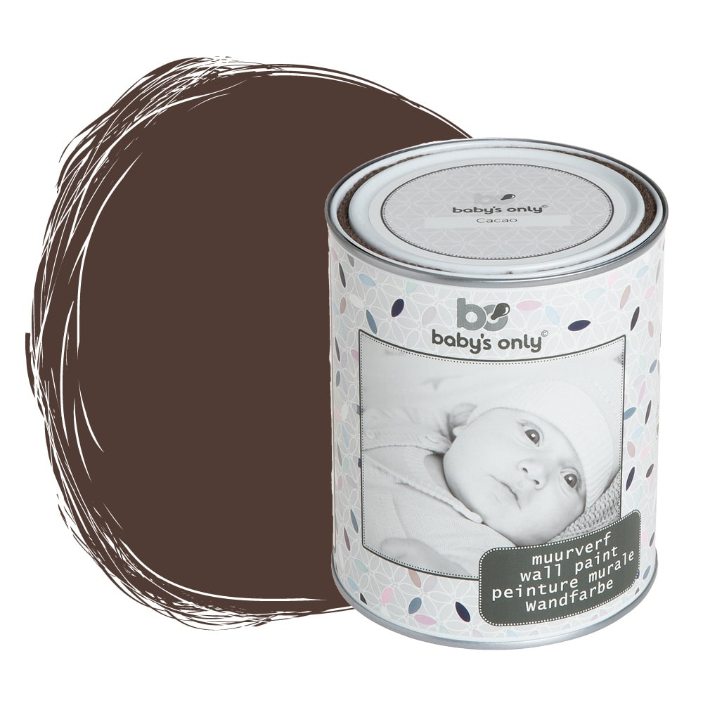 muurverf cacao 1 liter