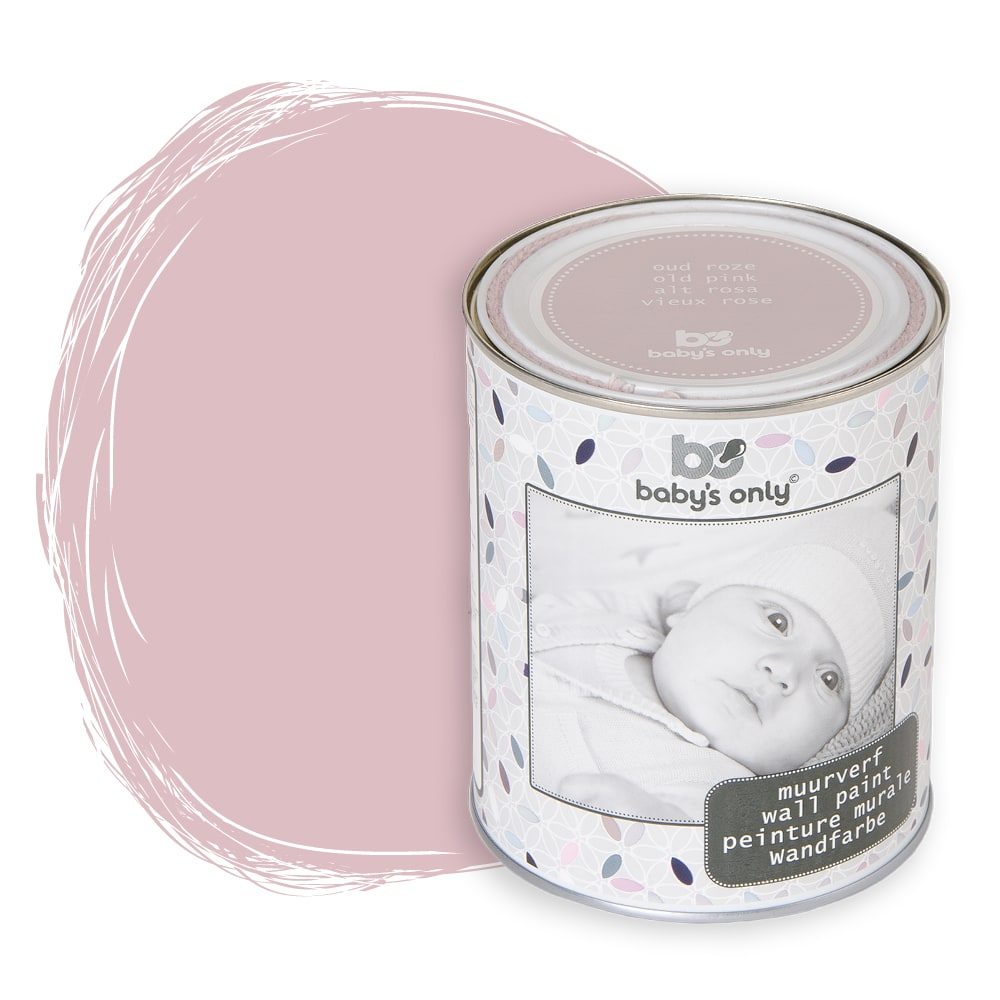 babys only 0989507 muurverf oud roze 1