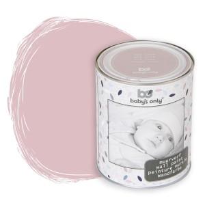 Muurverf oud roze - 1 liter