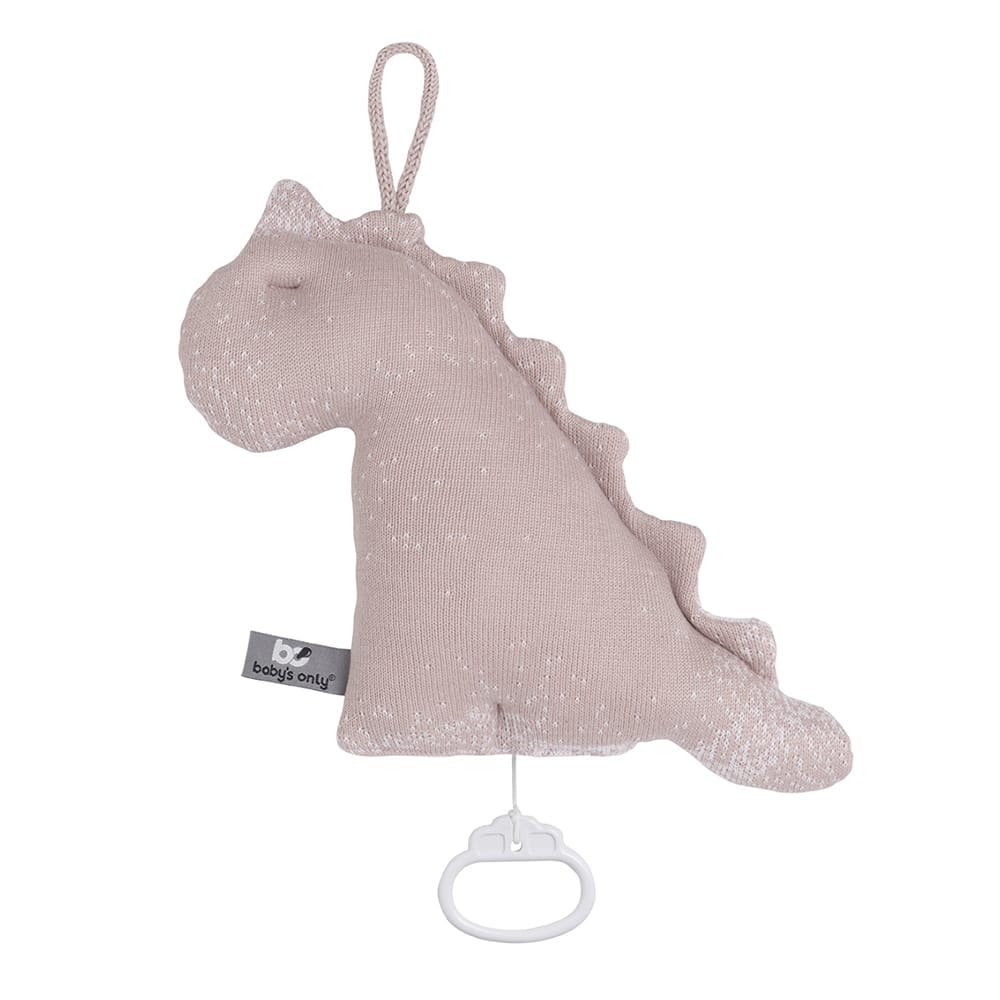 babys only 0214984 muziekdoos dino marble oud roze classic roze 1
