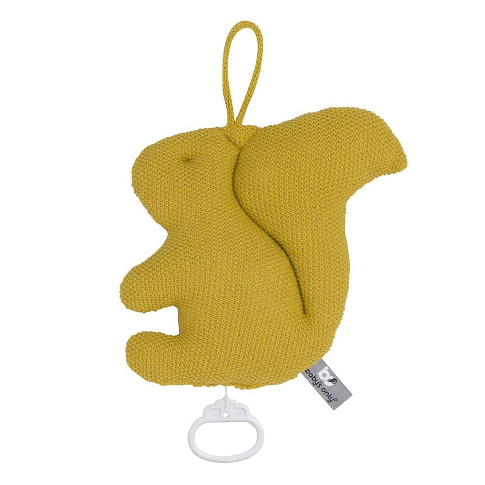 babys only 0264908 muziekdoosje eekhoorn forest mustard 1