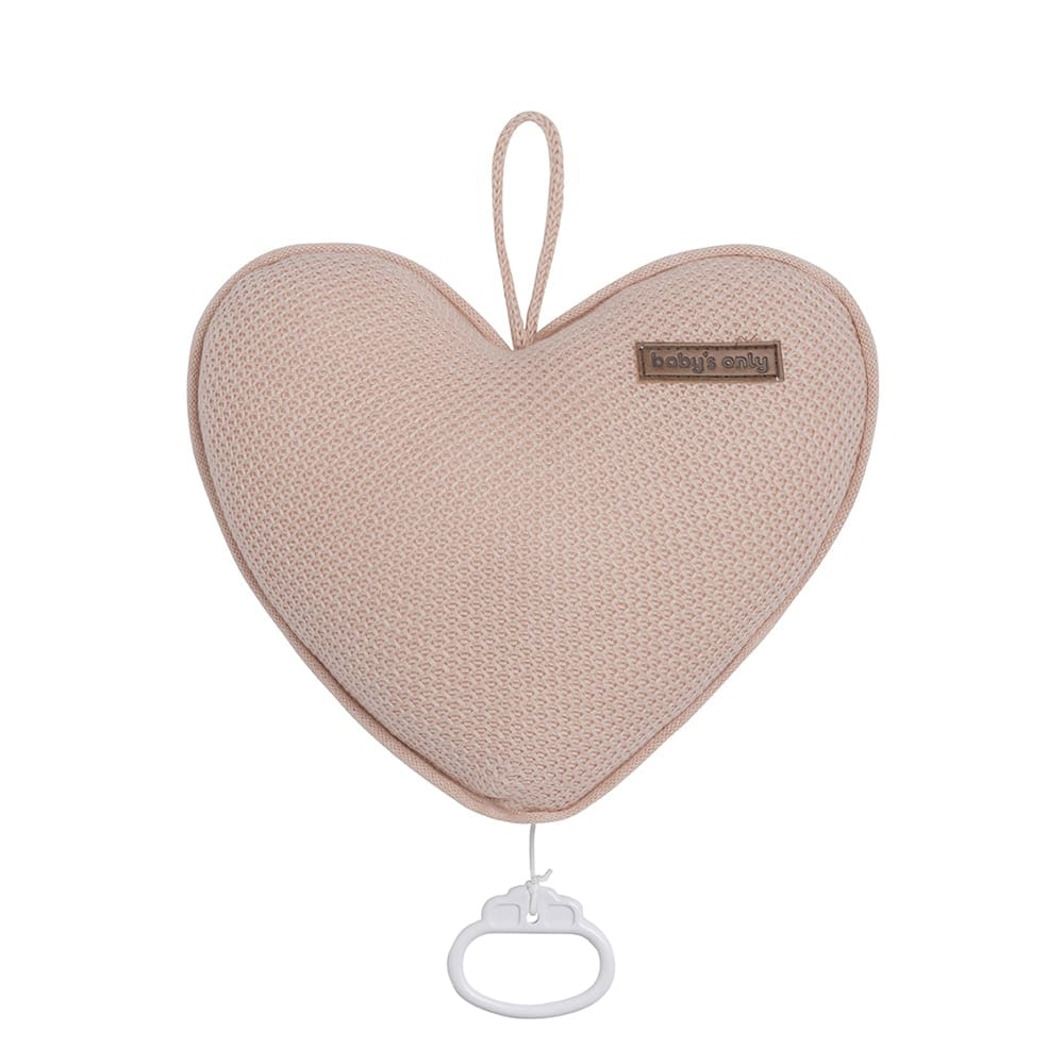 babys only 0204613 muziekdoos hart classic blush